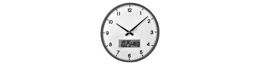 Digi-analogiques horloges murales