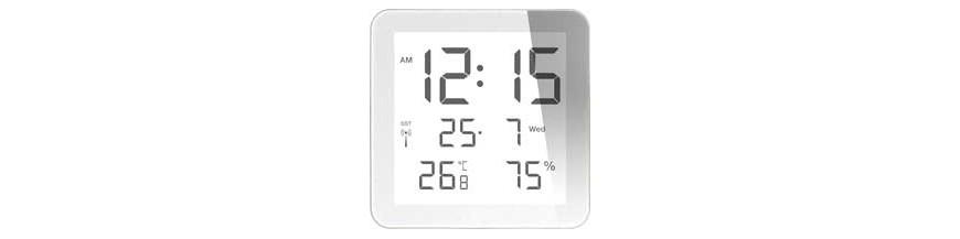 HORLOGE DE TABLE LCD quartz numérique par l'horloger suisse autorisé