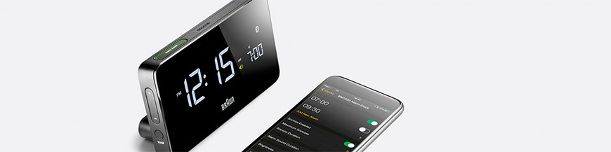 Pendule à poser Bluetooth - Smart Clocks