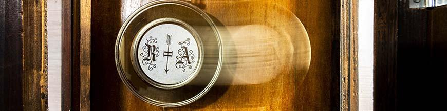 Horlogerie mécanique de l'horloger suisse