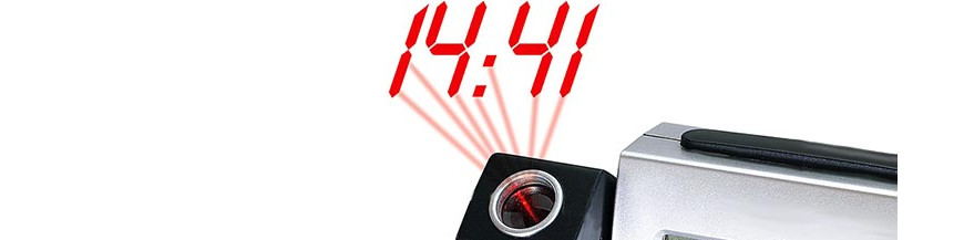 Horloges de projection de l'horloger suisse