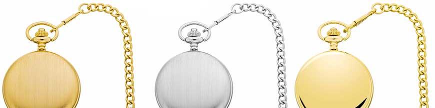 Chaînes de montres de poche de l'horloger suisse