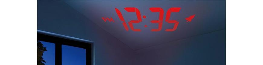Projektionswecker vom Schweizer Uhrmacher