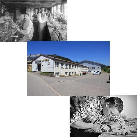 AMS Standuhren Fabrikaton in Furtwangen