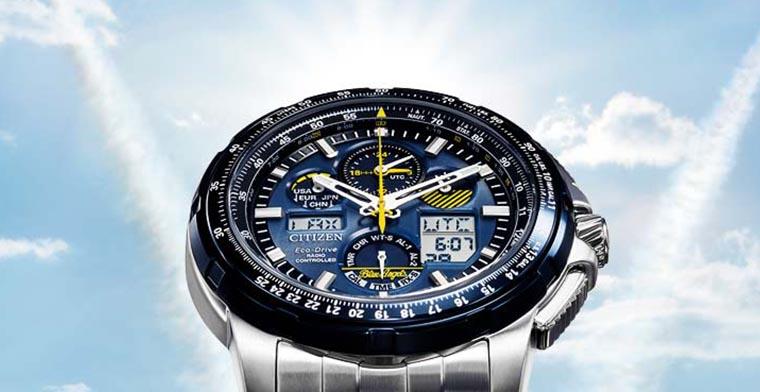 Blaue Citizen Uhren