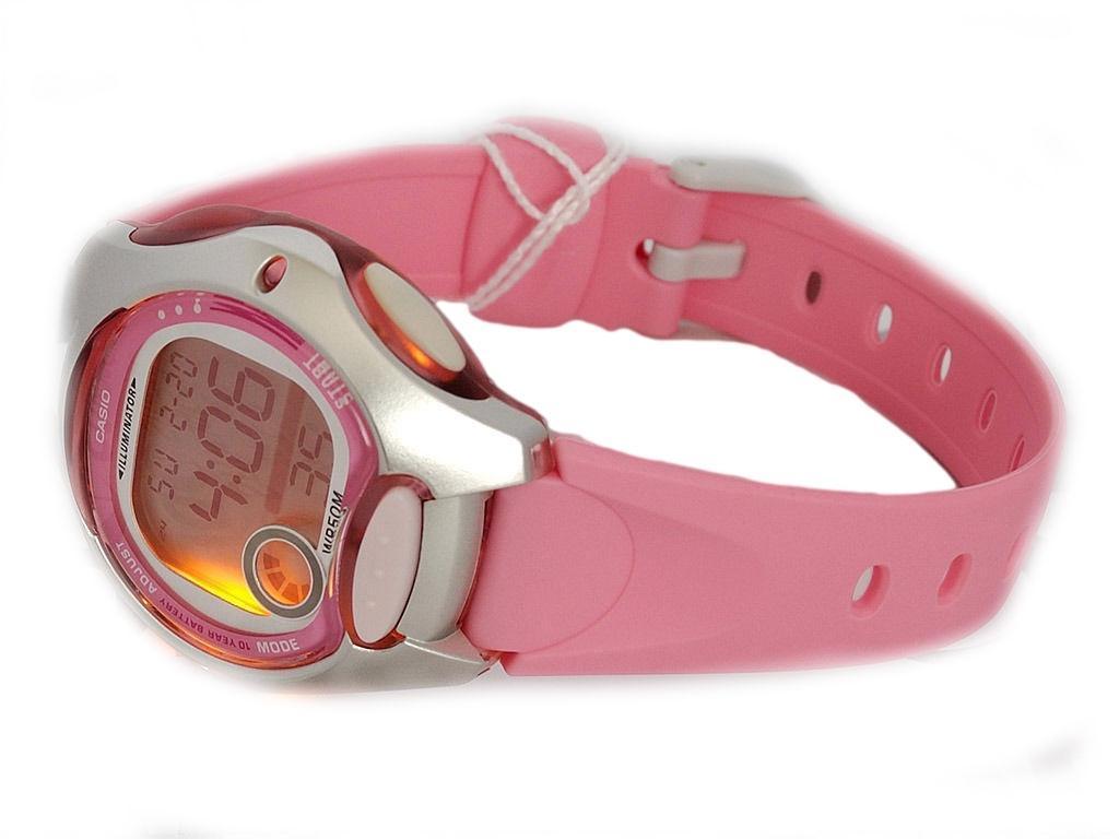 Rosa Pinke Digitaluhr von Casio