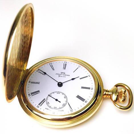 Goldene Schweizer Taschenuhren