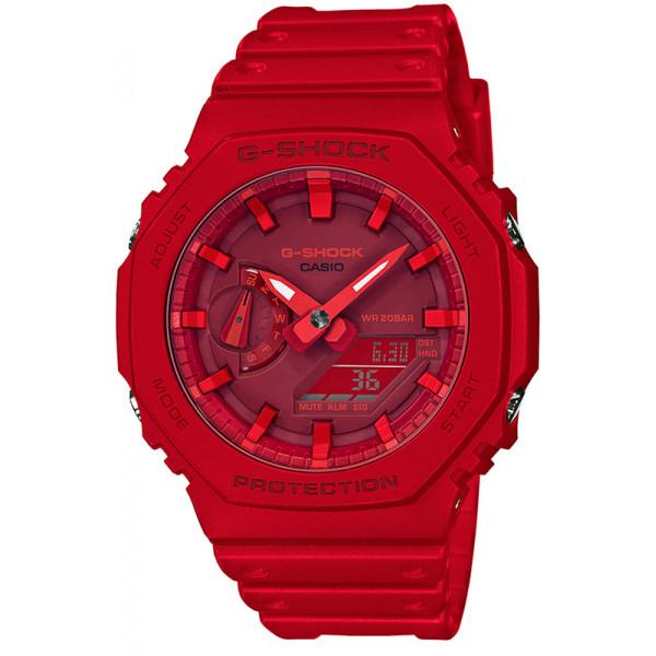Rote G-Shock Uhren