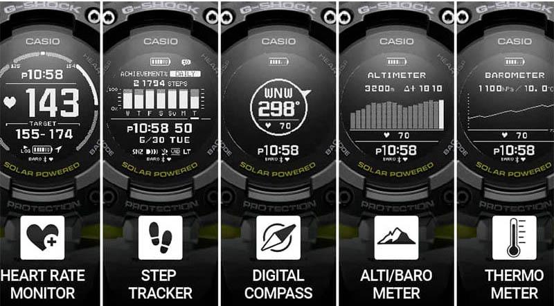 G-Shock GBD-H1000-8ER Schweiz