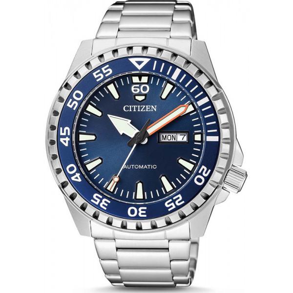 Citizen Automatik Armbanduhr blau