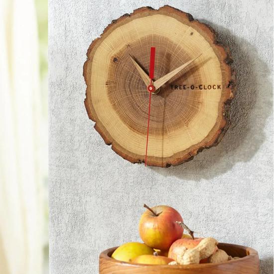 Holzwanduhren Quartz