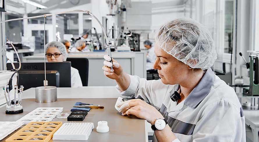 Junghans Uhren Produktion