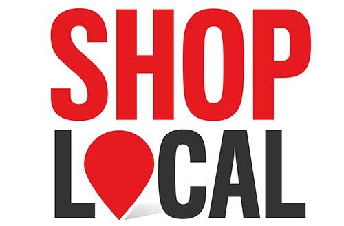 Unterstützen Sie lokale Händler