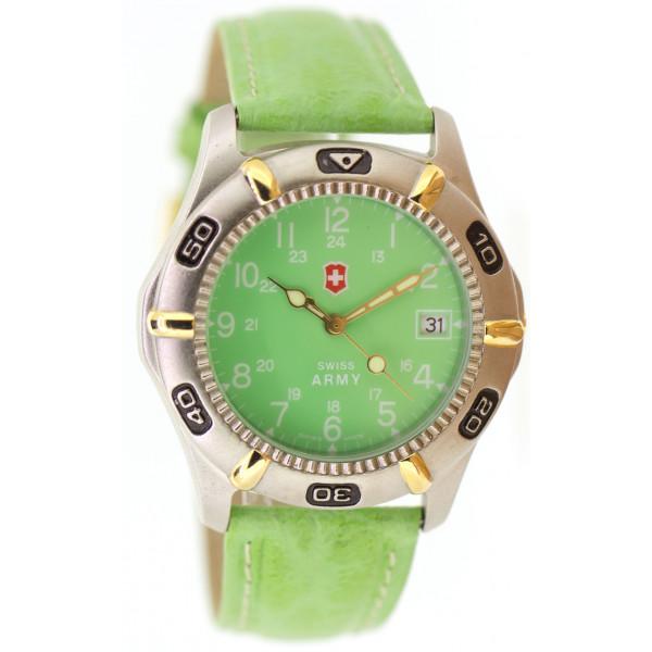 Grüne Swiss Army Uhren
