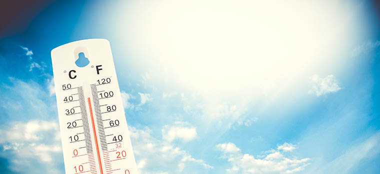 Uhren mit Thermometer