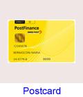 Zahlung mit Postcard