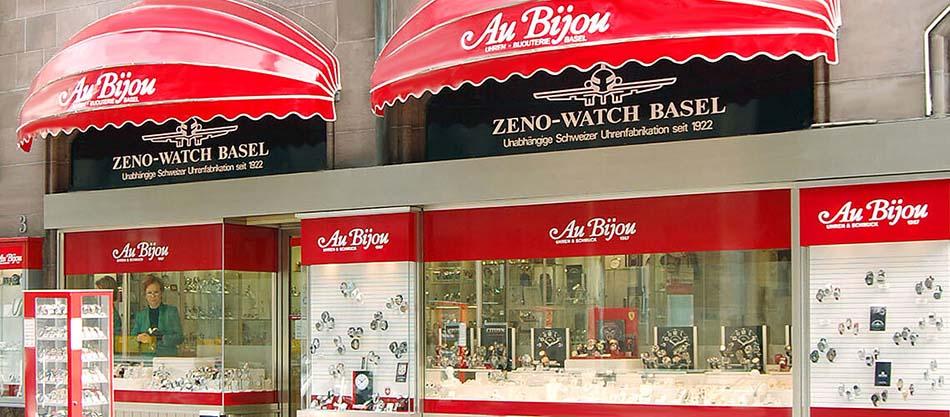 Uhren Fachgeschäft Au Bijou an der Rüdengasse 3 in Basel