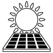 Solar Uhren